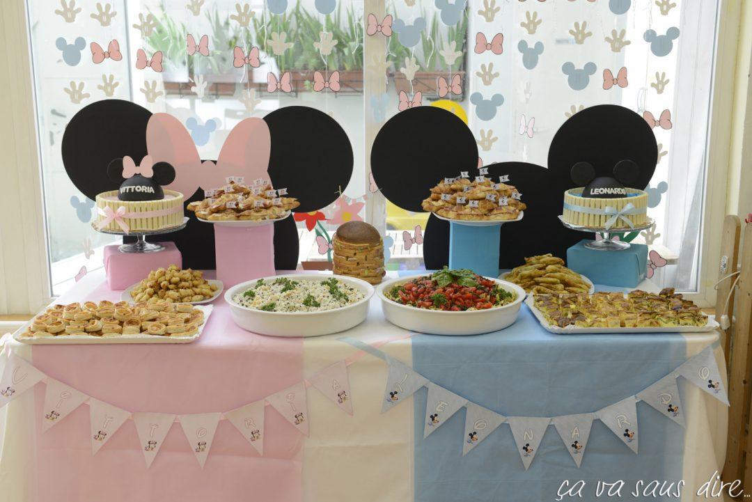 Baby Minnie Baby Topolino Party Per Vittoria E Leonardo ça Va