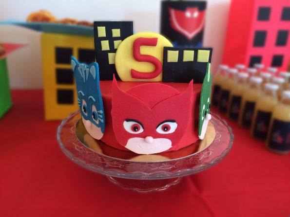Torta SUPER PIGIAMINI - PJ MASK | Ça va sans dire | cavasansdire.com