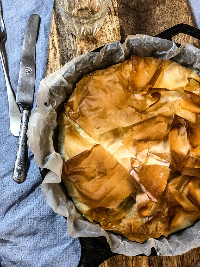 Torta di pasta fillo | Ça va sans dire | cavasansdire.com