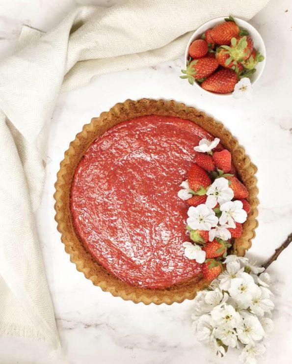 Crostata morbida al cioccolato e fragole | Ça va sans dire | cavasansdire.com