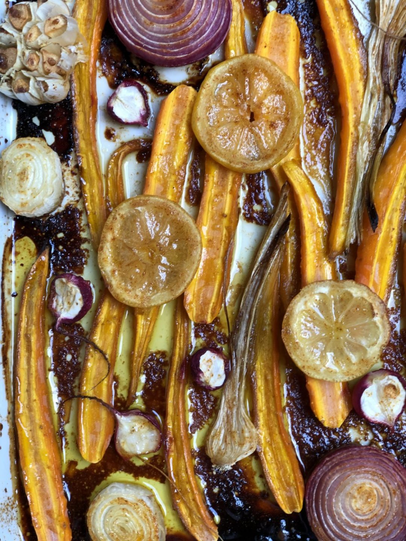 Roast di verdure povere | Ça va sans dire | cavasansdire.com
