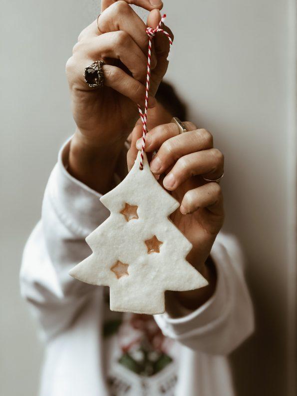 Biscotti da appendere all'albero di Natale come decorazioni | Ça va sans dire | cavasansdire.com