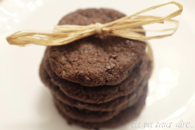 Biscotti al cioccolato e Fior di Sale di Pierre Hermé