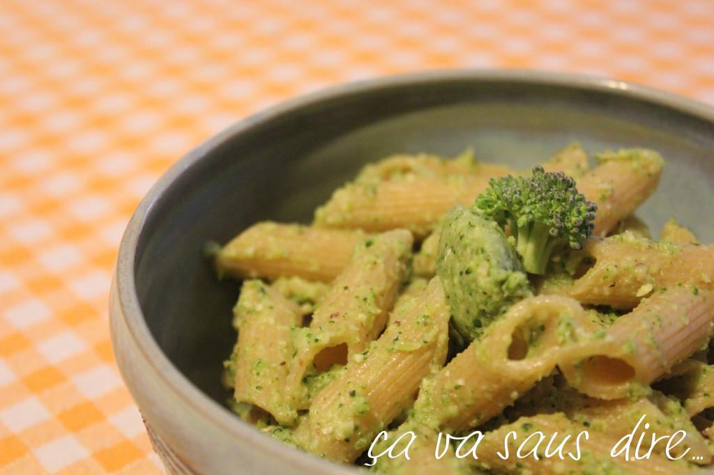 pesto broccoli e nocciole