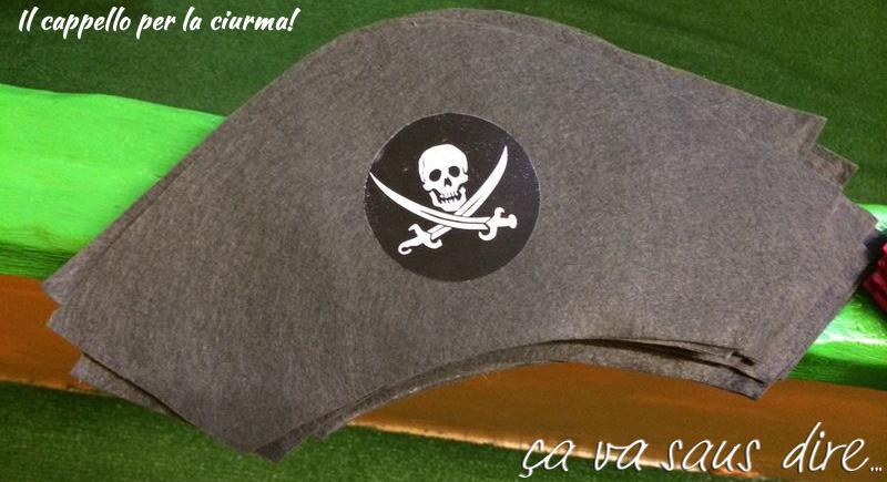 Cappello Pirati