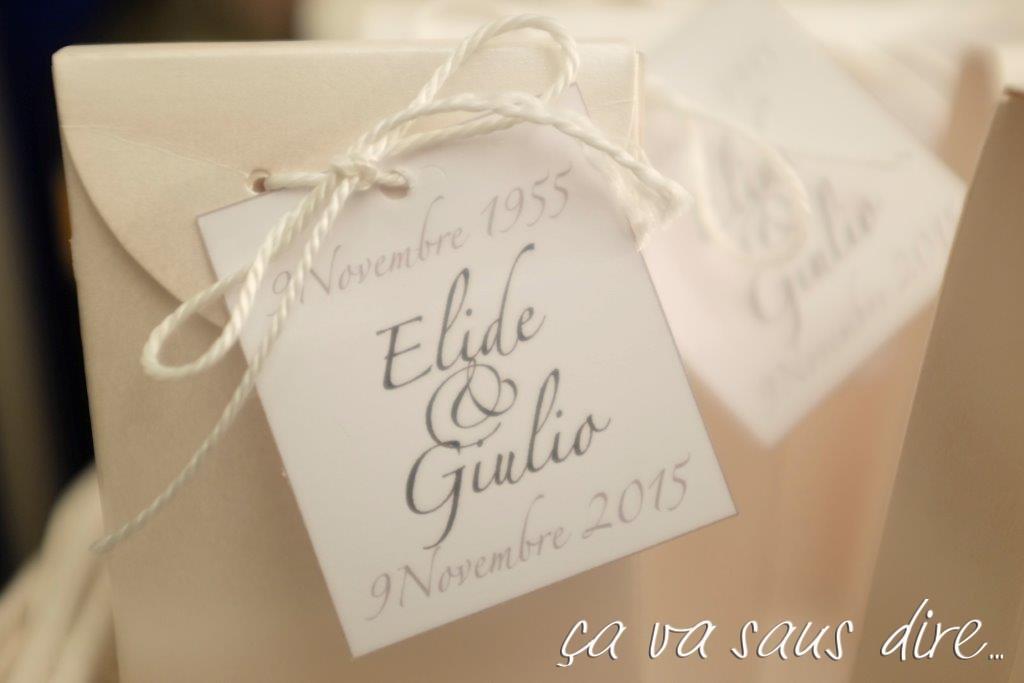 Elide e Giulio Thank You Gift