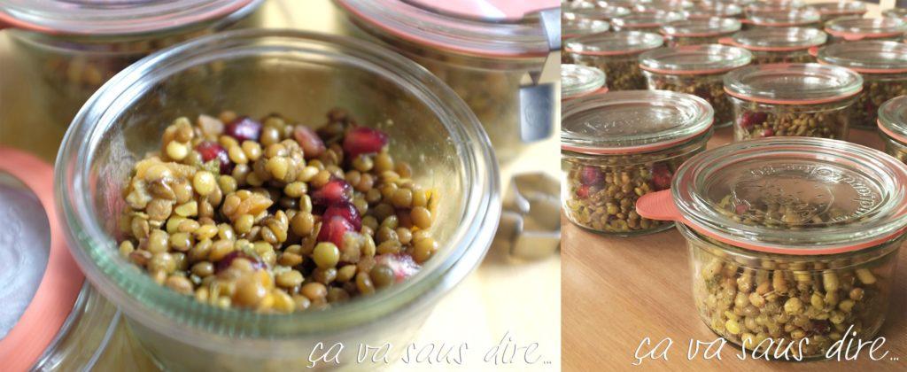 Asian Lentils Salad