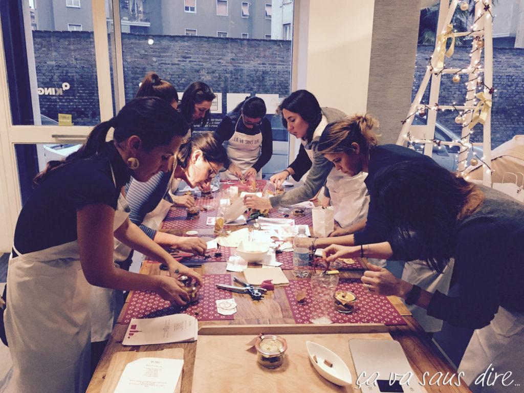 Girls at work!